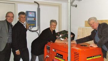 Hospice De Schelp voortaan verzekerd van stroom